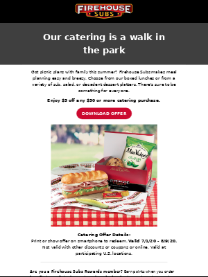 Our catering is a walk in the park🌞