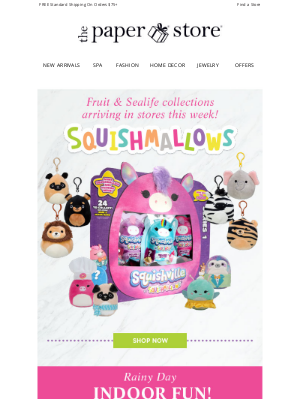 The Paper Store - Just in! New Squishville, Squishmallows