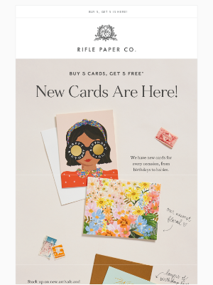Rifle Paper Co. - CARD SALE