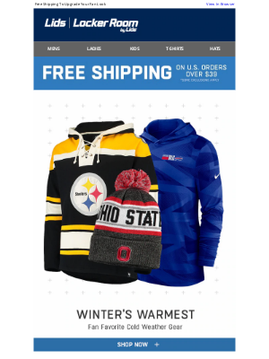 LIDS - Bundle Up in Style