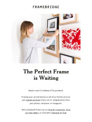 Framebridge - Framing's never been easier