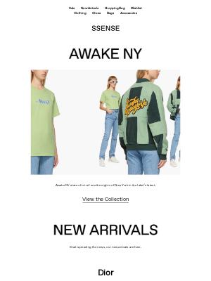 New Arrivals from Dior, adidas Originals, Simone Rocha, and Off-White