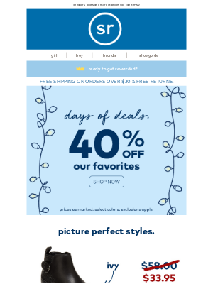 Stride Rite - Get our amazing deals now! – 40% Off + Up to 50% Off Sale
