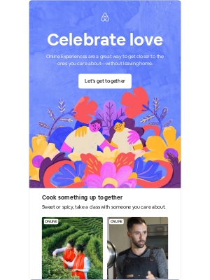 Airbnb - Make this Valentine's Day memorable