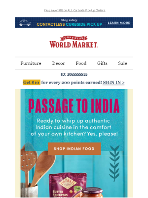 World Market - Easy, delicious Indian meals at home