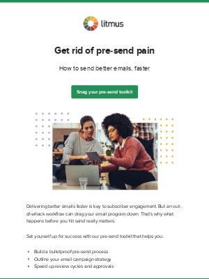Litmus - Pre-send stuff can be a pain in the...