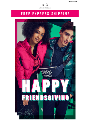 Look Your Best On Friendsgiving + Free Express Shipping
