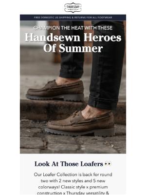 Handsewn Heroes Of Summer!