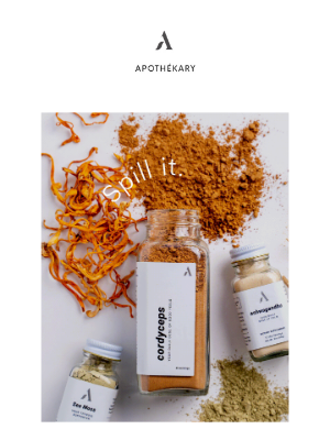 Apothekary - Our CEO's Morning Routine.