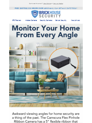 BrickHouse Security - Monitor Your Home From Every Angle