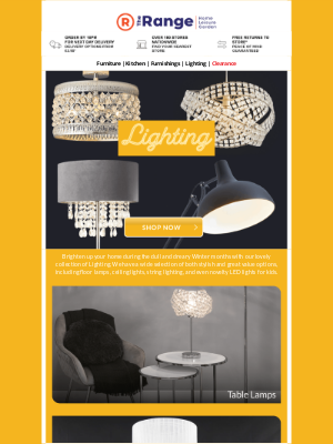 The Range (UK) - 💡 Brighten Your Home In Style With Our Lovely Lighting 💡