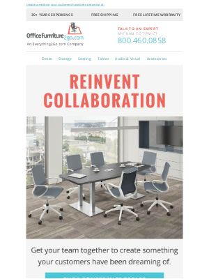 Office Furniture - Reinvent How Your Team Brainstorms