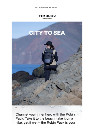Timbuk2 - Let the Robin Pack Take You On An Adventure