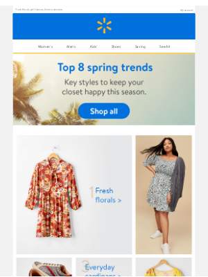 Walmart - These top trends are calling your name...✨
