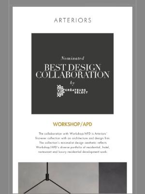 Arteriors Home - Spring Sneak Peek 2021: Workshop/APD & Arteriors Nominated for Best Design Collaboration