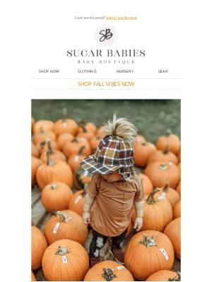 Sugar Babies - 🍂🎃  Be the CUTEST Pumpkin in the Patch! 🍂🎃
