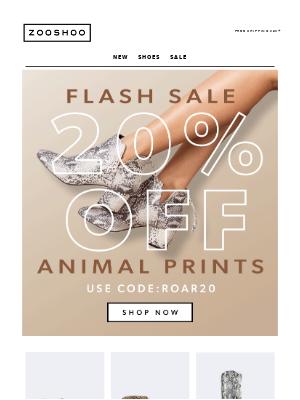 BOO! 20% OFF All Animal Prints! 🐍 🐆