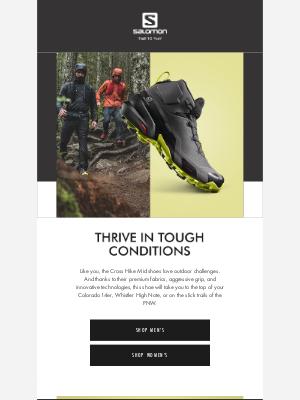 Salomon - Discover the new Cross Hike Mid GTX Shoe