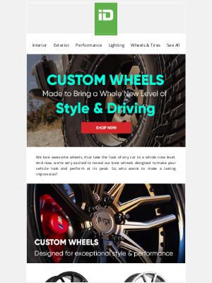 CARiD - So. Many. Great. Wheels.
