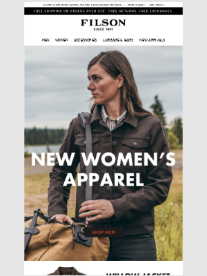 Women's Collection: New Apparel