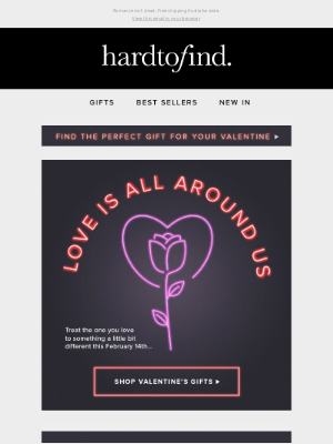HardToFind AU - Celebrate love with our Valentine's Day edit ❤️
