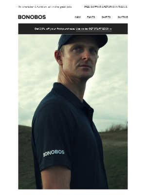 A golf polo for every kind of player.