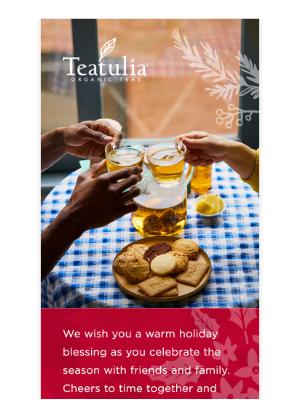 Teatulia Tea - Happy Holidays