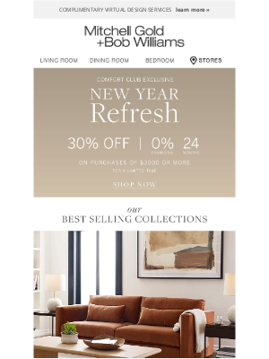 MGBWhome - New Year Refresh Starts Now