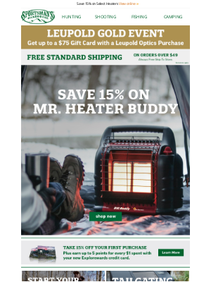 Sportsman's Warehouse - Shop portable heaters for comfort at home or away.