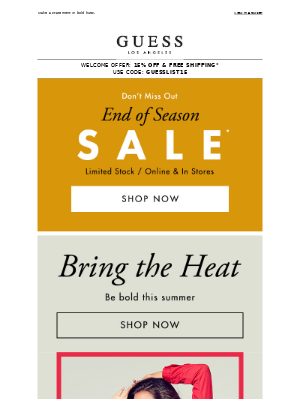 Red Alert: Color Trend & A Sale