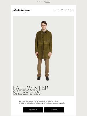 Salvatore Ferragamo UK - Sales are not over yet