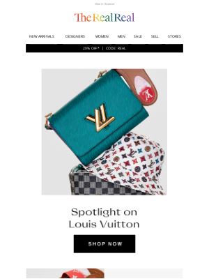 The RealReal - Louis Vuitton on sale