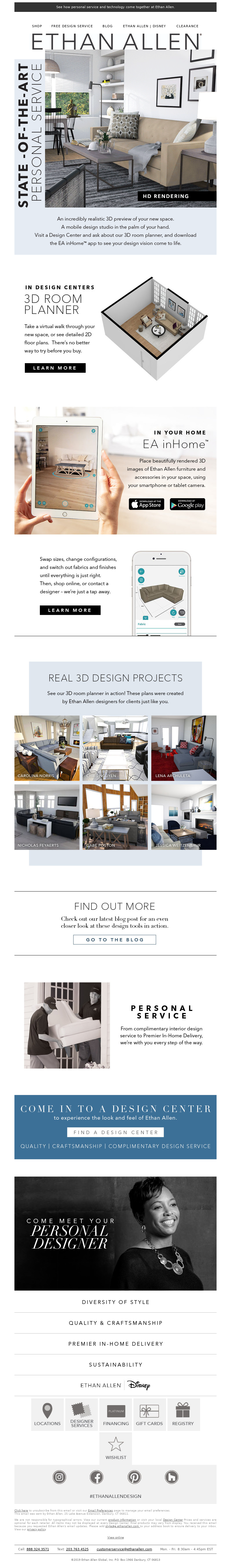 Ethan Allen - The future of design is here!