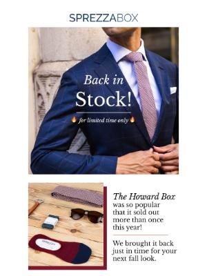 SprezzaBox - Back By Popular Demand