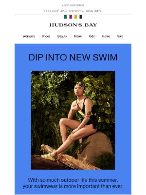Hudson's Bay (CA) - 💦 Make a splash in fab swimwear