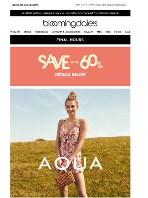 Summer ease: AQUA rompers & jumpsuits