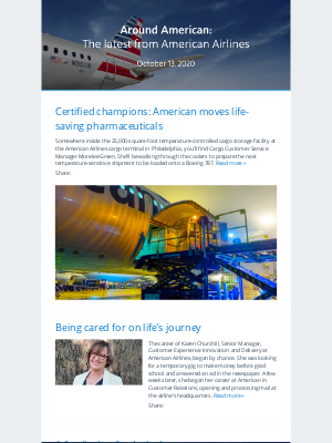 American Airlines - Around American: The latest from American Airlines