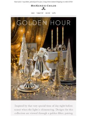 MacKenzie Childs LLC - Capture the magic of Golden Hour ✨