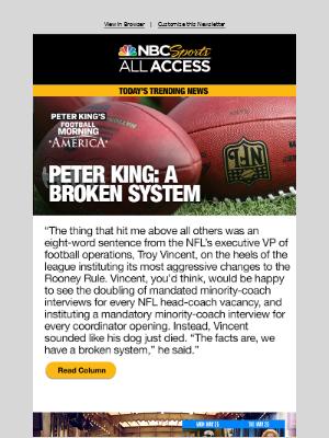 Peter King: A broken system