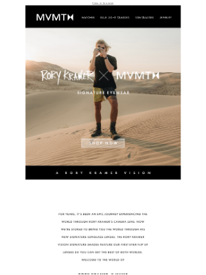MVMT Watches - OUT NOW: RORY KRAMER x MVMT