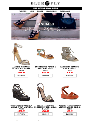 Sunday Funday | Women's and Men's Shoe Clearance Up to 75% OFF