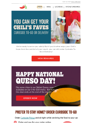 Chili's Grill & Bar - Chili's faves delivered to your door.
