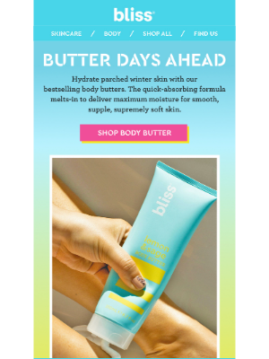 Bliss - Everything's Better With Butter