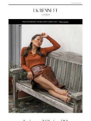 L.K.Bennett (UK) - New season trends with Mariko Kuo