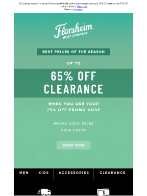 Florsheim Shoes - Our best prices of the season are here