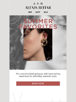 Alexis Bittar - Effortless Summer Style