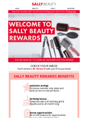 Sally Beauty - Welcome! We're So Excited You Joined Us