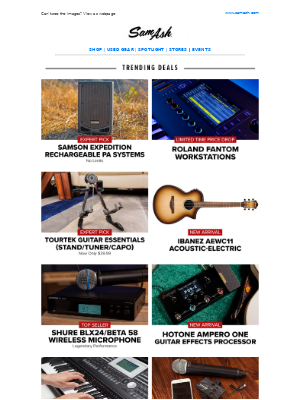 Sam Ash Music - ☼ Summer Specials: Music Gear You Need to Know About/Martin 000 Favorites
