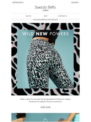 New printed Power Leggings inside 😍