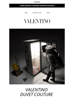 Valentino - Introducing Valentino Duvet Couture